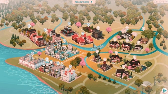 Willow Creek Save File at MSQ Sims image 858 670x377 Sims 4 Updates