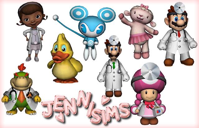 Decorative set 8 Items at Jenni Sims image 8612 Sims 4 Updates