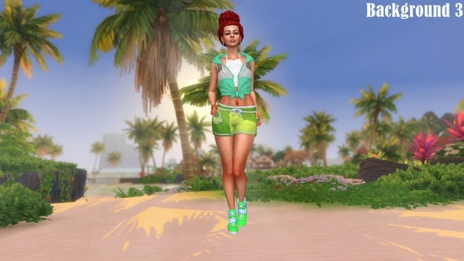 Island Living Landscape CAS Backgrounds at Annett's Sims 4 Welt image 867 670x377 Sims 4 Updates