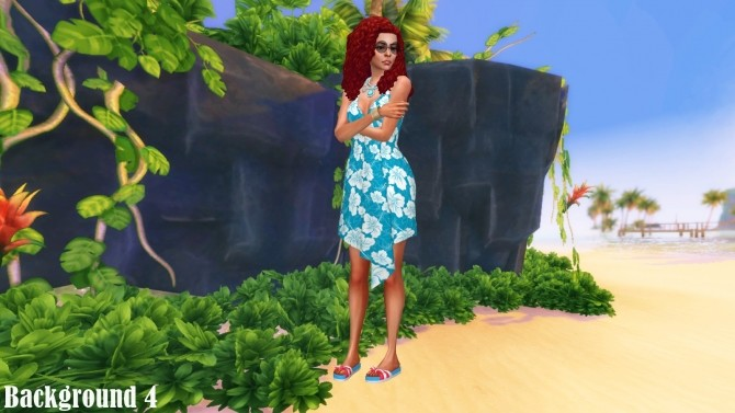 Island Living Landscape CAS Backgrounds at Annett's Sims 4 Welt image 877 670x377 Sims 4 Updates