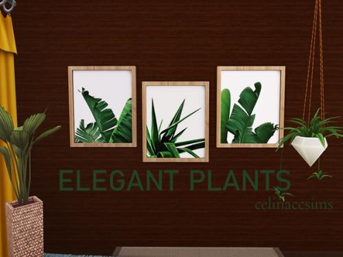 Elegant plants at Celinaccsims image 882 Sims 4 Updates