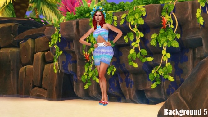 Island Living Landscape CAS Backgrounds at Annett's Sims 4 Welt image 887 670x377 Sims 4 Updates