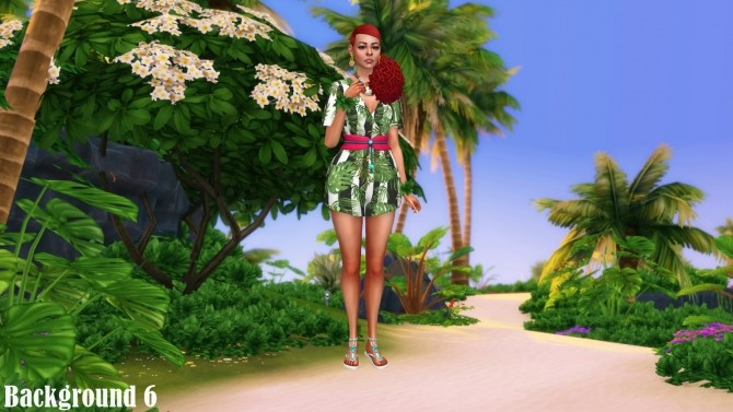 Island Living Landscape CAS Backgrounds at Annett's Sims 4 Welt image 897 670x377 Sims 4 Updates