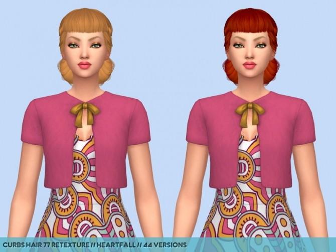 Colores Urbanos hair retextures at Heartfall image 9515 670x503 Sims 4 Updates