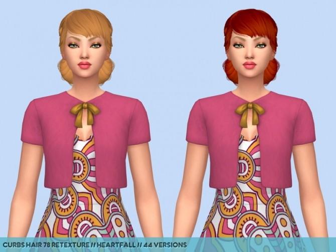 Colores Urbanos hair retextures at Heartfall image 9614 670x503 Sims 4 Updates