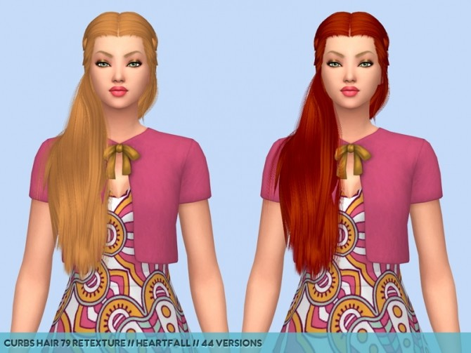 Colores Urbanos hair retextures at Heartfall image 9714 670x503 Sims 4 Updates