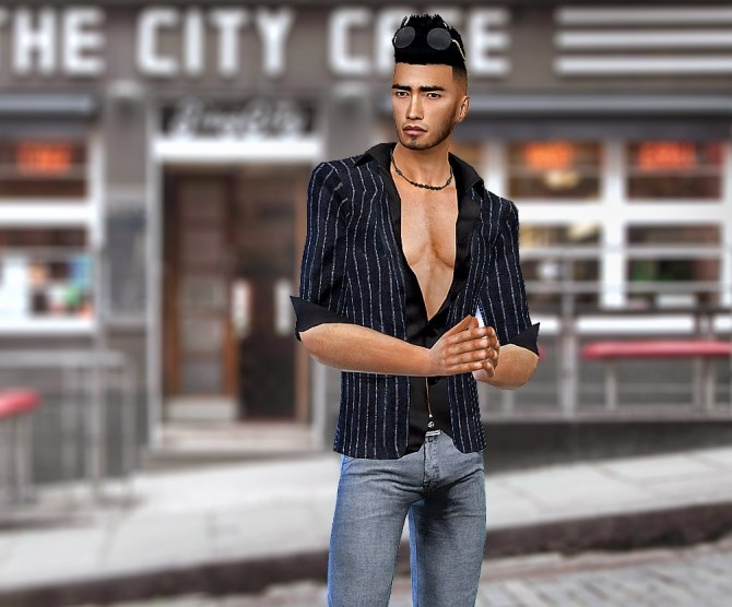 Sims 4 Daddy Suit at HoangLap's Sims