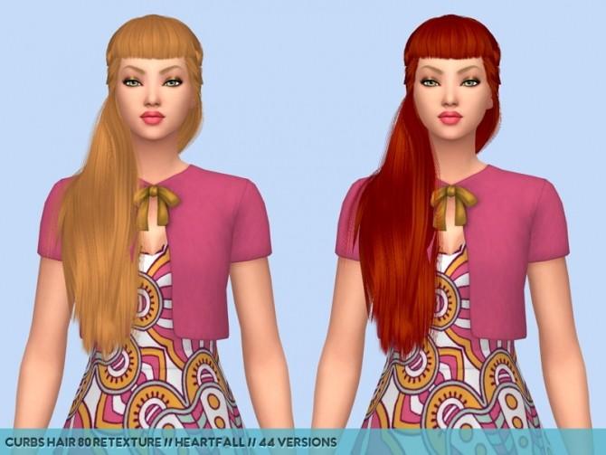 Colores Urbanos hair retextures at Heartfall image 9814 670x503 Sims 4 Updates