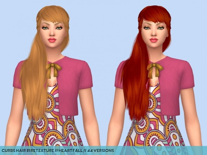 Colores Urbanos hair retextures at Heartfall image 9915 670x503 Sims 4 Updates