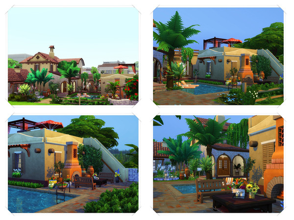 HOSE house by marychabb at TSR image 10 Sims 4 Updates