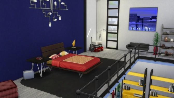 Sims 4 Playful Loft House at ArchiSim