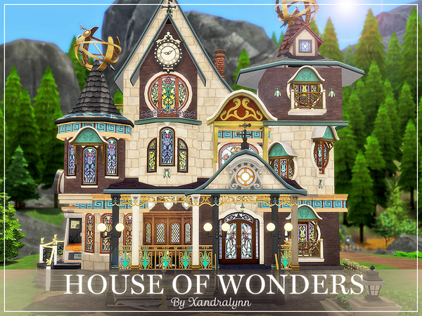 House of Wonders by Xandralynn at TSR image 10100 Sims 4 Updates