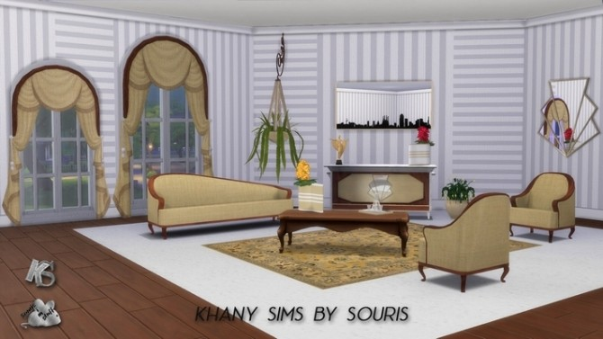 JAZZ living room by Souris at Khany Sims image 10124 670x377 Sims 4 Updates