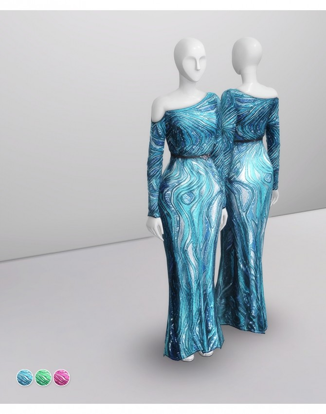 Sims 4 Fall 2014 Couture Collection at Rusty Nail