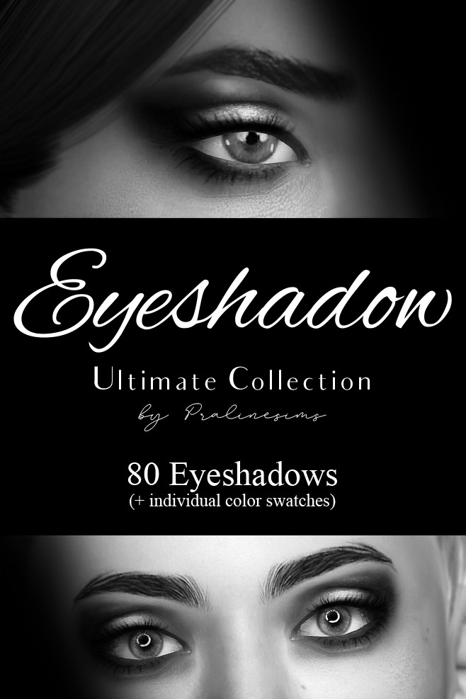 Eyeshadow Ultimate collection 80 items at Praline Sims image 10212 Sims 4 Updates