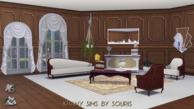 JAZZ living room by Souris at Khany Sims image 10220 670x377 Sims 4 Updates