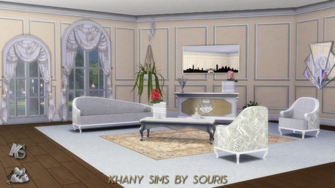 JAZZ living room by Souris at Khany Sims image 10319 670x377 Sims 4 Updates