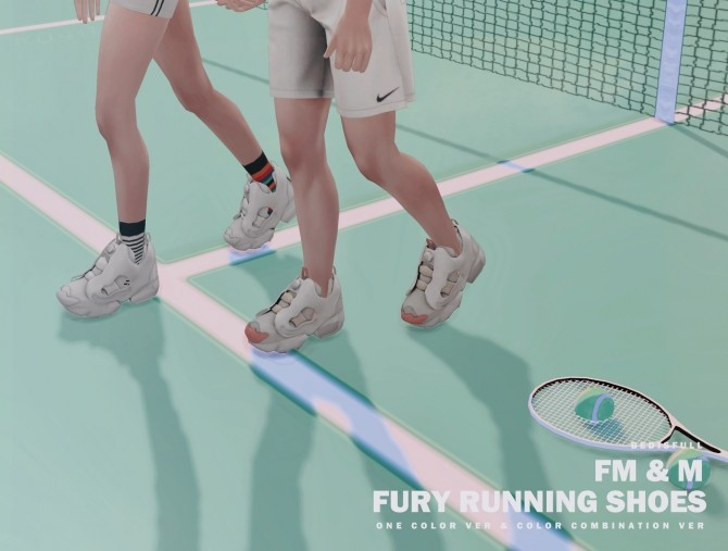 FM&M Fury running shoes at Bedisfull – iridescent image 104 670x507 Sims 4 Updates