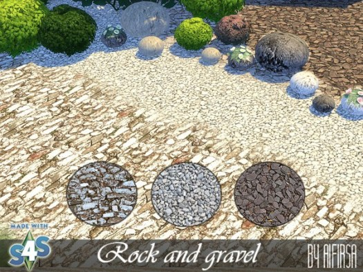 Rock and gravel terrain at Aifirsa image 1044 Sims 4 Updates