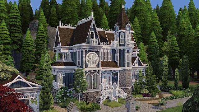 Spellcaster Family House at Akai Sims – kaibellvert image 1057 Sims 4 Updates