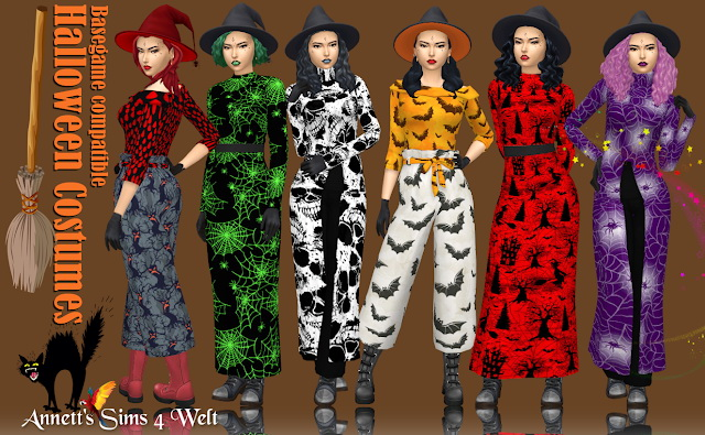 Halloween Sims 4 Cc 2020 Halloween Costumes at Annett's Sims 4 Welt » Sims 4 Updates