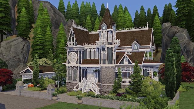 Spellcaster Family House at Akai Sims – kaibellvert image 1067 Sims 4 Updates