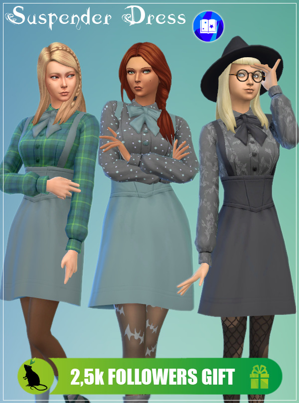 Suspender Dress at Standardheld image 10814 Sims 4 Updates