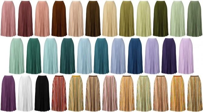Pleated skirt at LazyEyelids image 1086 670x370 Sims 4 Updates