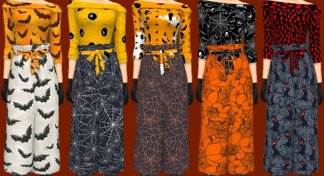 Sims 4 Halloween Costumes at Annett's Sims 4 Welt