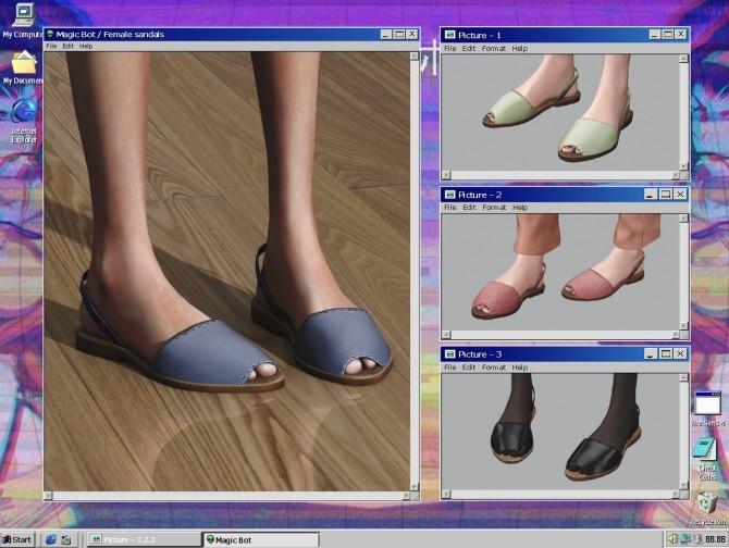 SANDALS F at Magic bot image 10913 670x504 Sims 4 Updates