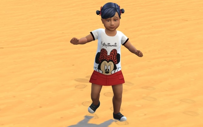 Sims 4 Printed Toddler T Shirts at Louisa Creations4Sims