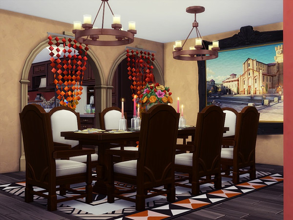 HOSE house by marychabb at TSR image 11 Sims 4 Updates