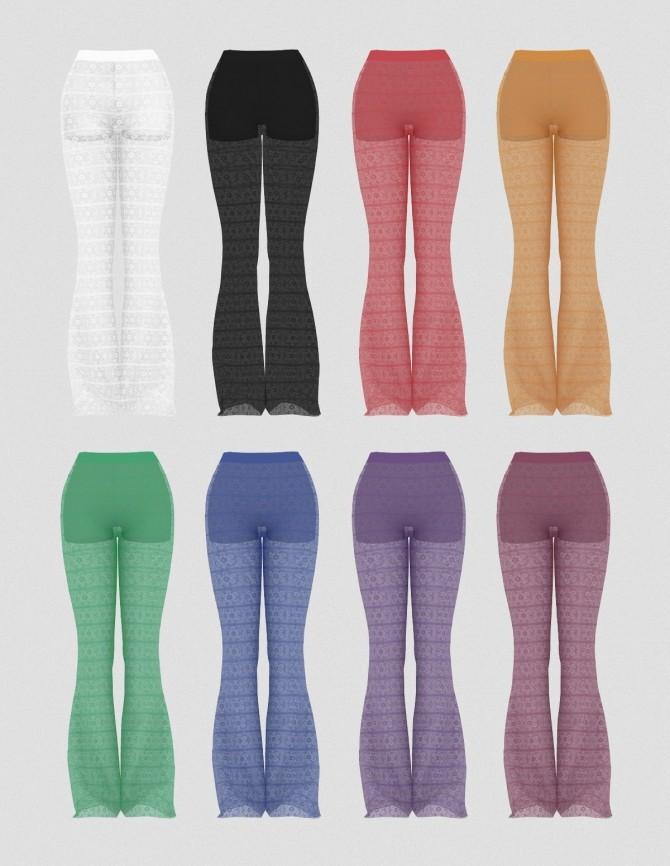 Sims 4 RENDA PANTS by Thiago Mitchell at REDHEADSIMS