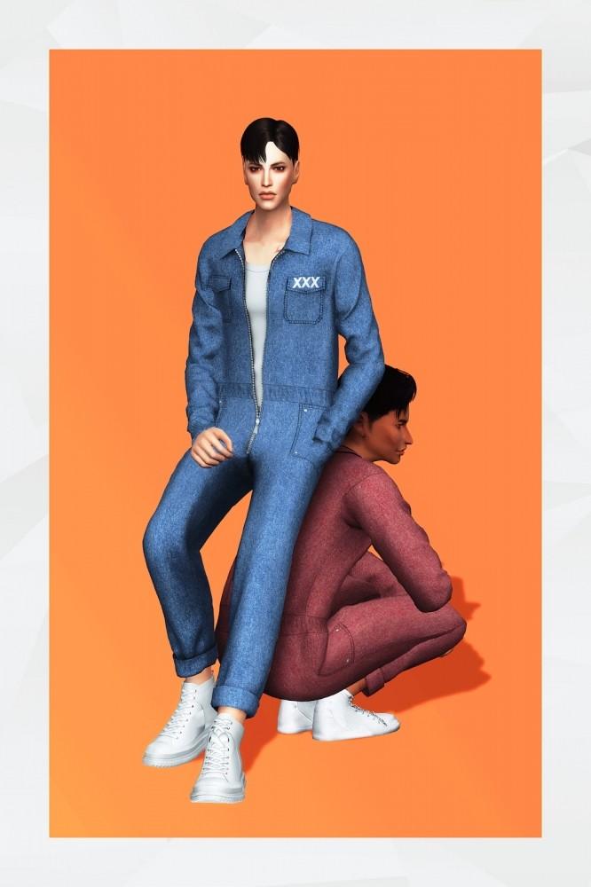 Jumpsuits at Gorilla image 11713 666x1000 Sims 4 Updates