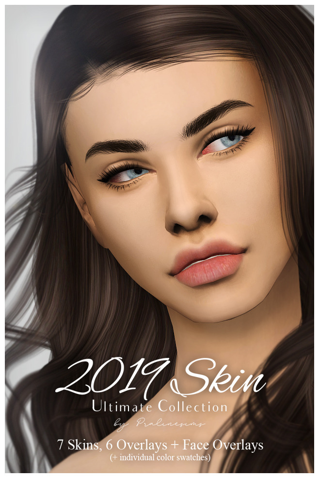 Sims 4 2019 SKIN Ultimate Collection at Praline Sims