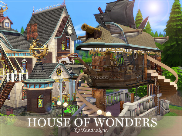 House of Wonders by Xandralynn at TSR image 12100 Sims 4 Updates