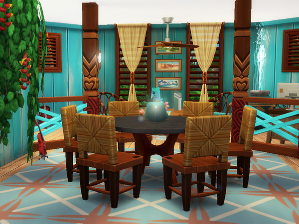 Sims 4 Mama Village by dasie2 at TSR