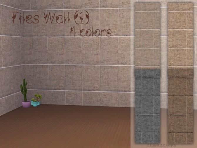 Sims 4 Tiles Wall 1 at Celinaccsims
