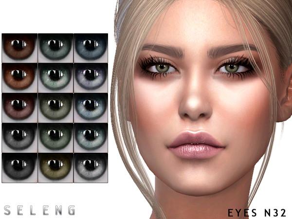Sims 4 Eyes N32 by Seleng at TSR