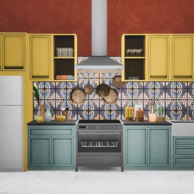 Essa Modern Kitchen Set 14 New Objects at Simsational Designs image 12610 670x670 Sims 4 Updates