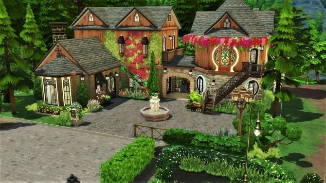Steeped in Magic house at Agathea k image 1265 670x377 Sims 4 Updates