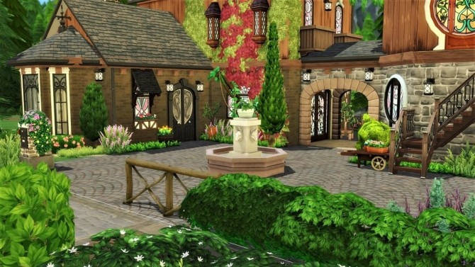 Steeped in Magic house at Agathea k image 1275 670x377 Sims 4 Updates