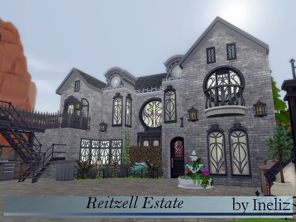 Reitzell Estate by Ineliz at TSR image 1280 Sims 4 Updates