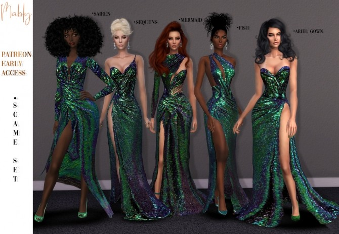 SCAME SET at Mably Store image 12812 670x463 Sims 4 Updates