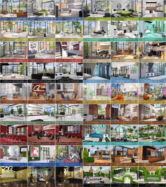 13.000 Followers Gift   21 lots by Praline at Cross Architecture image 1306 670x754 Sims 4 Updates