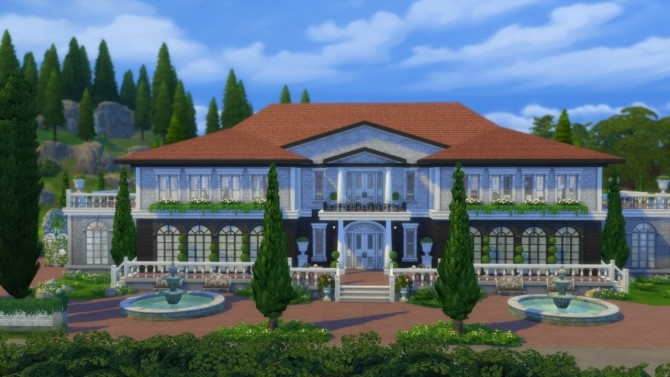 500k Simoleon Mansion at ArchiSim image 131 670x377 Sims 4 Updates