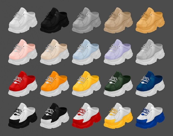 Buffalo Sneakers Half AF at MMSIMS image 13111 670x527 Sims 4 Updates