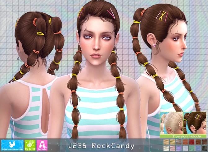 Sims 4 J238 RockCandy hair (P) at Newsea Sims 4