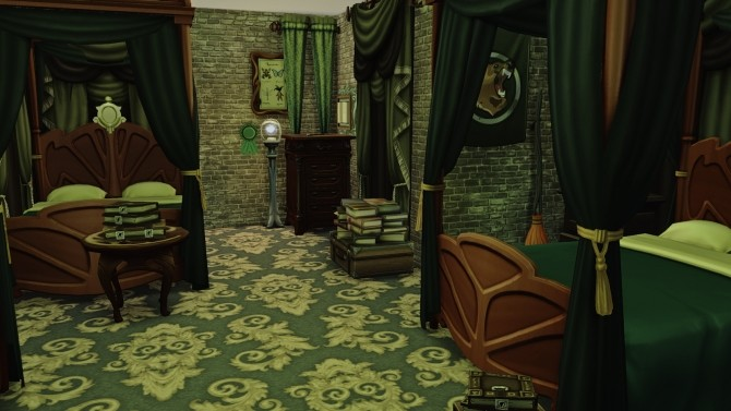Hogwarts School of Witchcraft and Wizardry at Akai Sims – kaibellvert image 1323 670x377 Sims 4 Updates