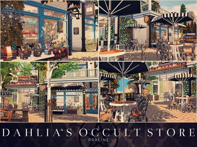 Sims 4 Dahlia's Occult Store at Cross Design
